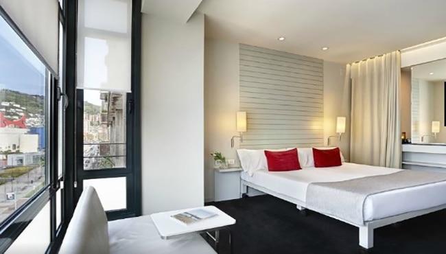 Habitación del Hotel Miró en Bilbao