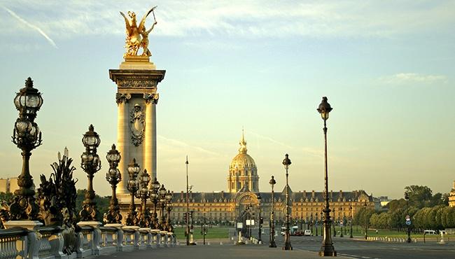 Pont de Alexander, uno de los puentes más bonitos de la capital francesa