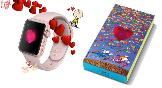 Ediciones especiales San Valentín Apple y Swacht