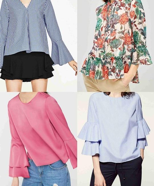 Camisa de Zara (29,95€), camisa de Pedrio del Hierro (99,90€), camisa de Mango (25,99€) y camisa de Sfera (17,99€)
