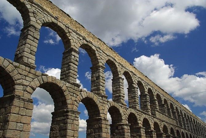 Acueducto de Segovia. Foto: Gtres