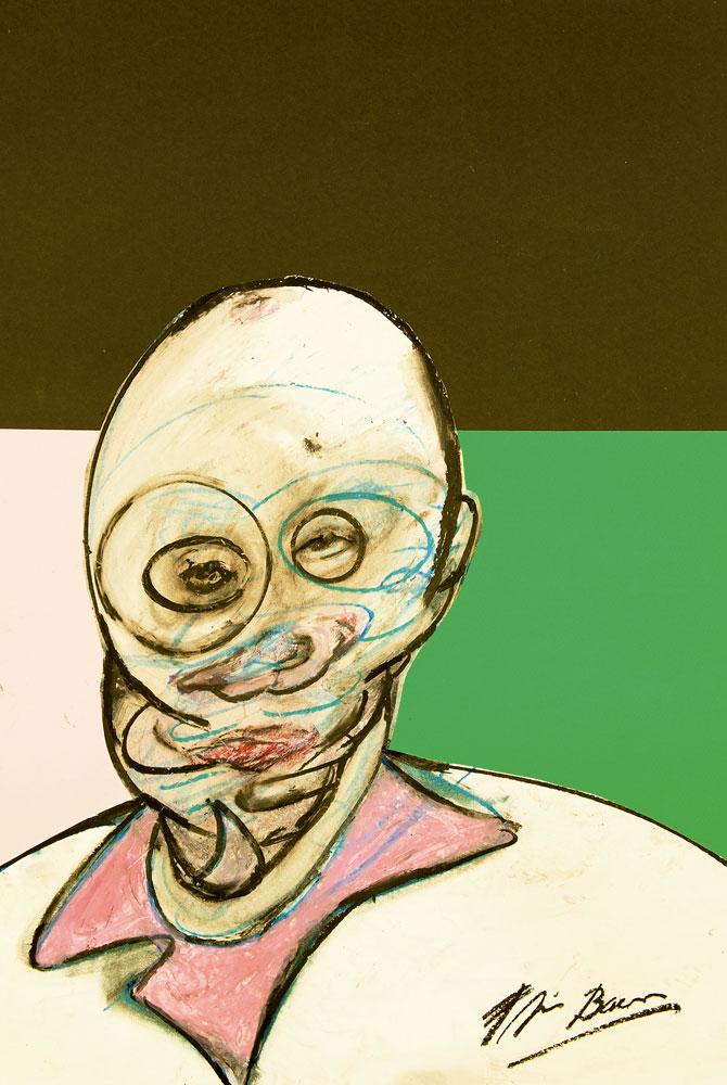 Francis Bacon Cabeza-1984.