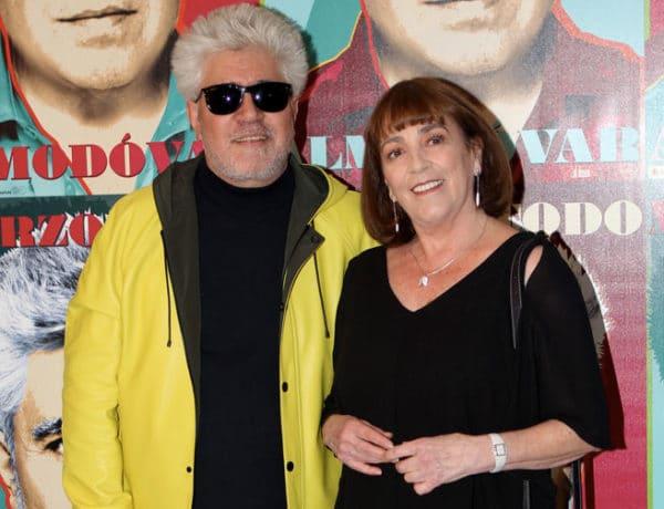 Carmen Maura y Pedro Almodóvar en la inauguración de Marzo Todo Almodóvar