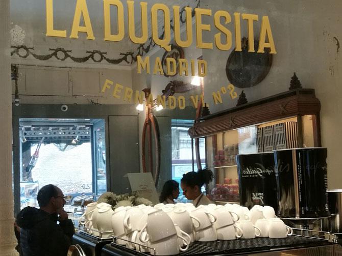 desayunar en el centro de Madrid