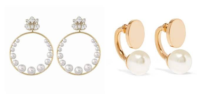 Pendientes de perlas de Antonheunis y Chloé