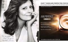 Campaña de la actriz baby boomer Susan Sarandon para Loreal.