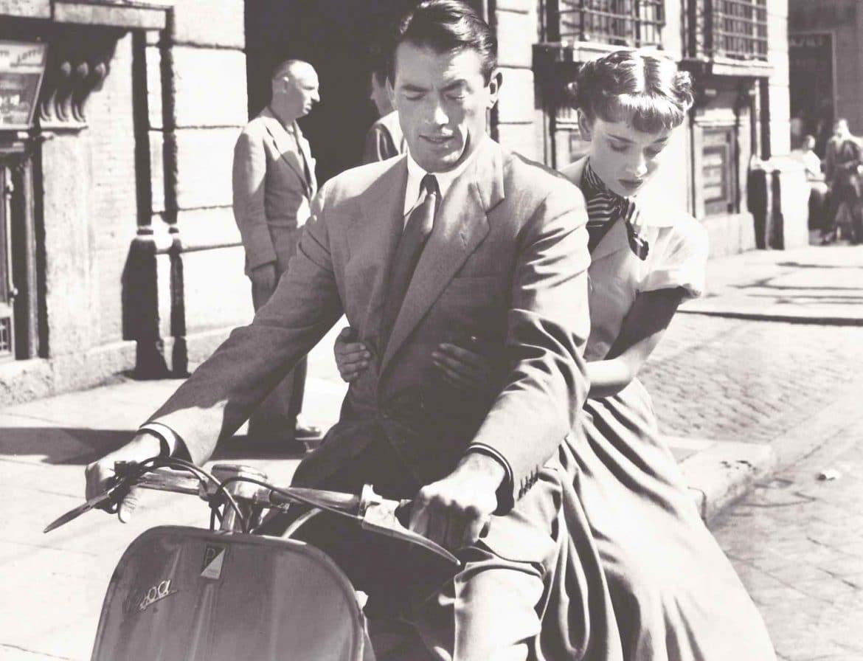 """Audrey Hepburn en """"Vacaciones en Roma"""""""