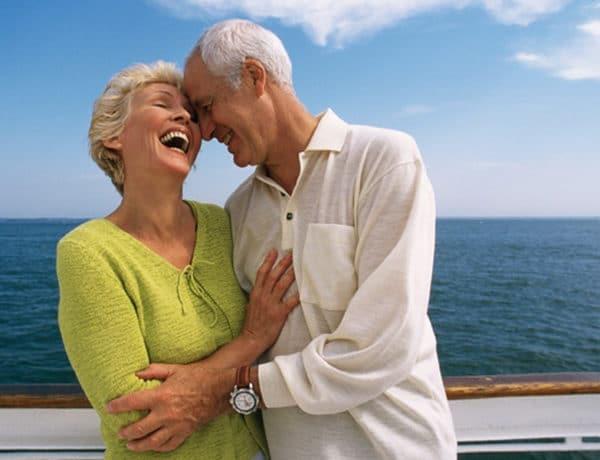 Cruceros para mayores de 55 años