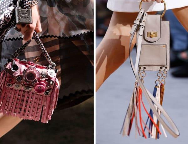 Mini bolsos de Coach 1941 y Chloe primavera 2017. Imagenes vogue.com