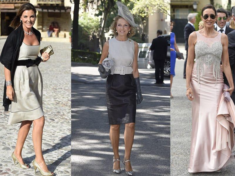 ebff00fbf Un mismo vestido para diferentes looks de invitada de boda - Babú ...