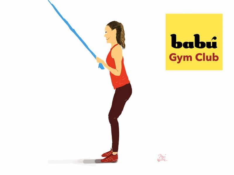 rutina para brazos mujeres gym