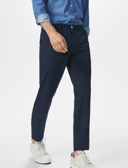 Pantalon tipo chino casual fit 39,95 euros