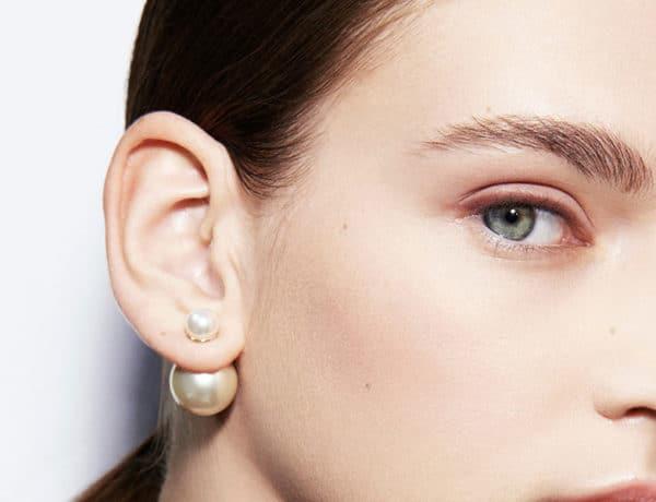 Pendientes asimétricos Dior Tribales, foto web Dior
