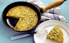 Tortilla de kale. Foto:gtres