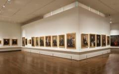 """Imagen en sala de la exposición """"Tesoros de la Hispanic Society of America. Visiones del mundo hispánico"""". Foto © Museo Nacional del Prado / Exhibition galleries. © Museo Nacional del Prado"""