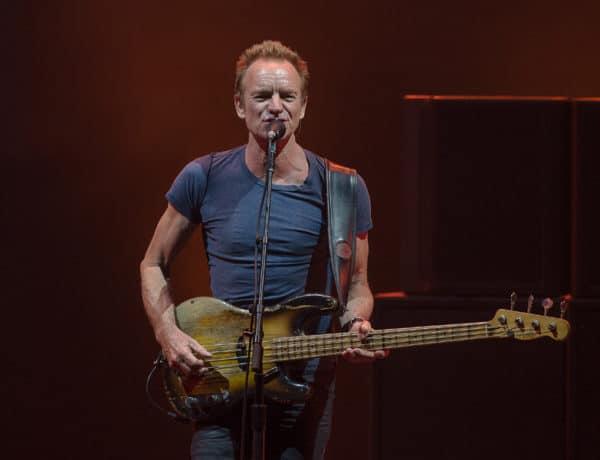 Sting en concierto