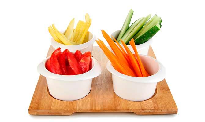 verdura alimentos procesados