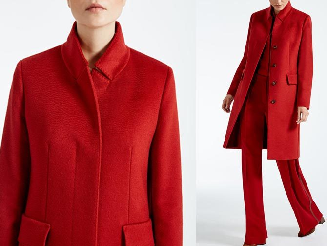 6088ebe917231 Abrigos rojos para mujeres decididas - Babú Magazine