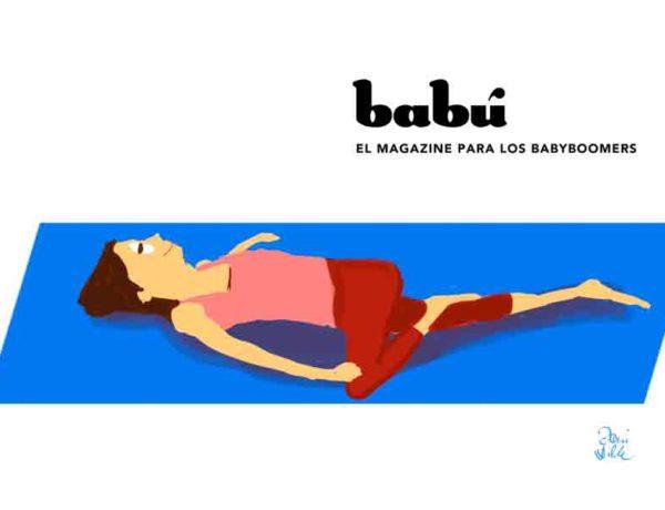 unos ejercicios de estiramiento para evitar el dolor de espalda