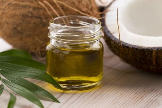 Aceite de coco lubricante natural