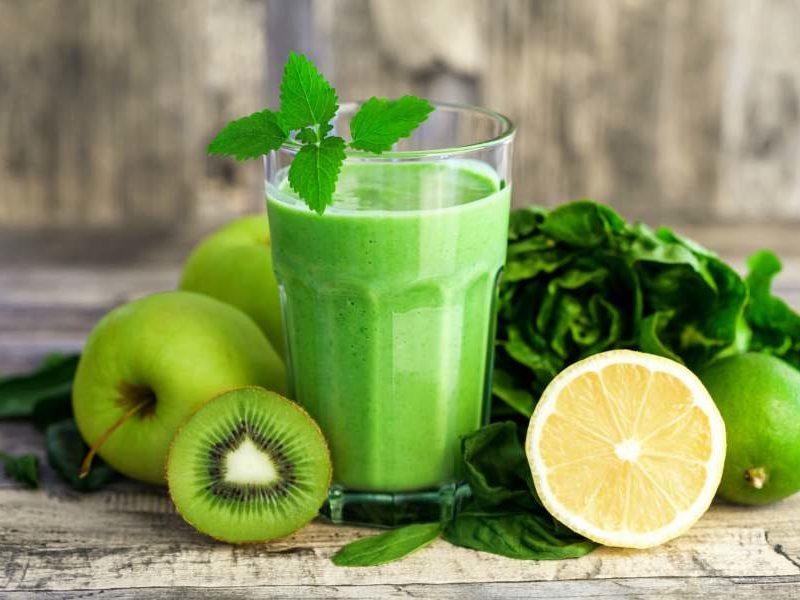 Batidos verdes para adelgazar cuando tomarlos