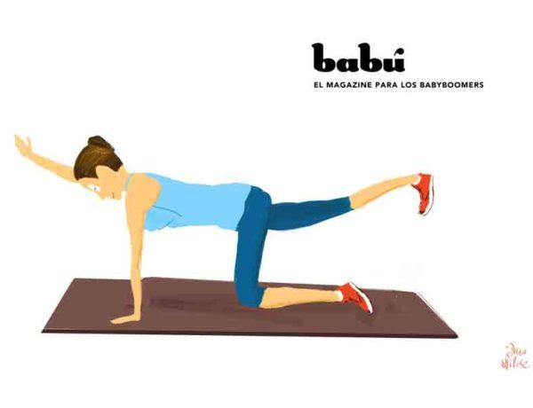 ejercicios para gluteos y brazos en casa