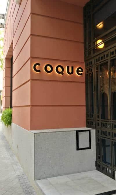 Restaurante coque Madrid