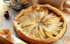 Tarta de Hojaldre y Manzana. Foto:gtres