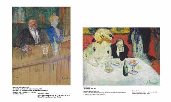 Picasso Lautrec