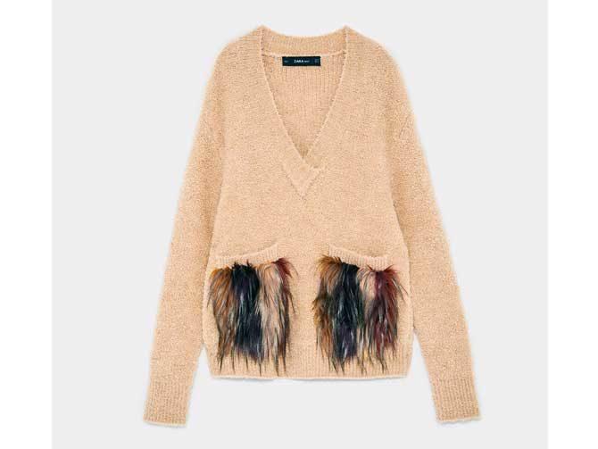 low priced 83d93 c8383 Zara De Magazine 10 Toques Prendas Babú Pelo Con 0E0n1qxf