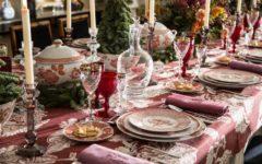 Ideas para decorar la mesa para Navidad
