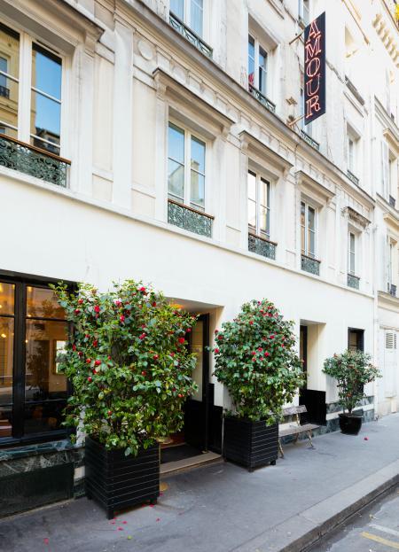 restaurantes y hoteles en Paris para San Valentín