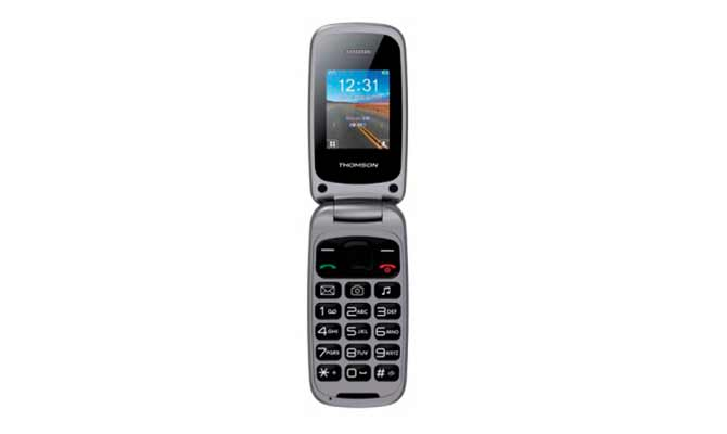 teléfonos móviles con tapa para mayores