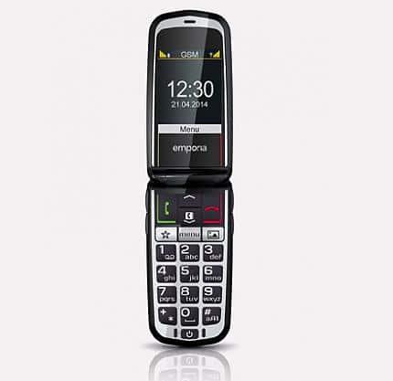 teléfonos con tapa para mayores
