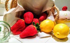 mermelada casera de fresas