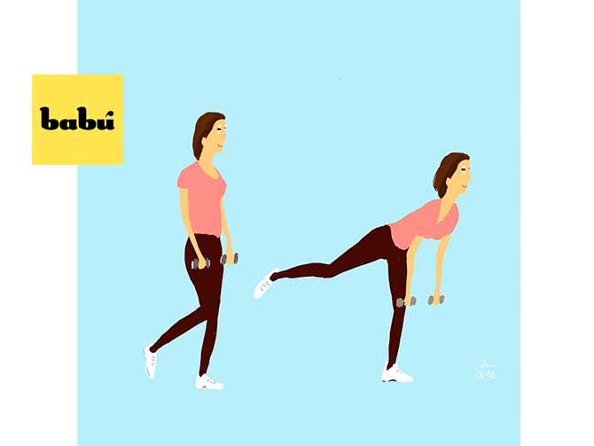 ejercicios sencillos para combatir la celulitis
