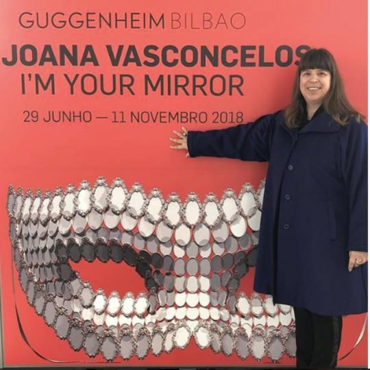 Joana Vasconcelos Museo Guggenheim Bilbao