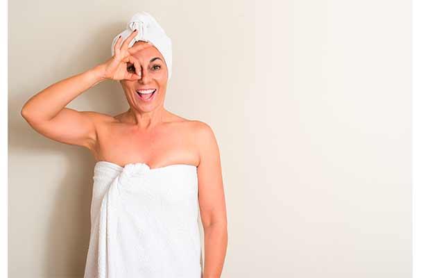 sequedad vaginal después de la menopausia