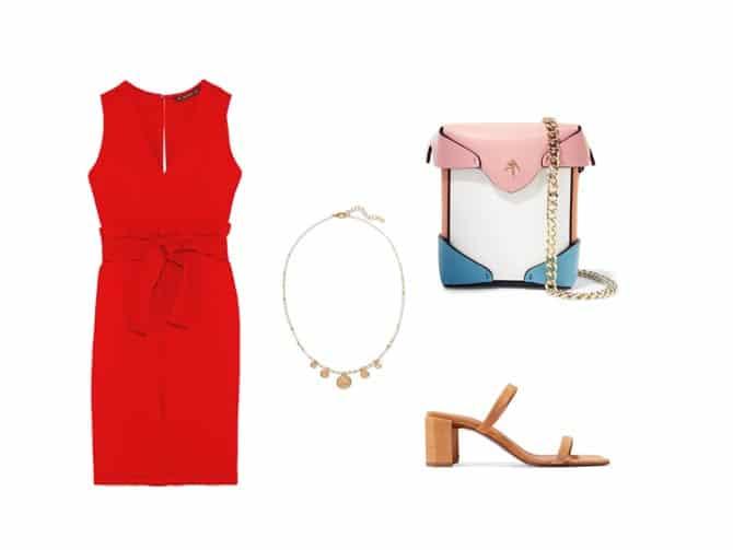 Vestido Rojo Para Complementos Magazine Trabajo Babu Babú Ed9h2i