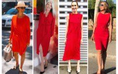 complementos para vestido rojo