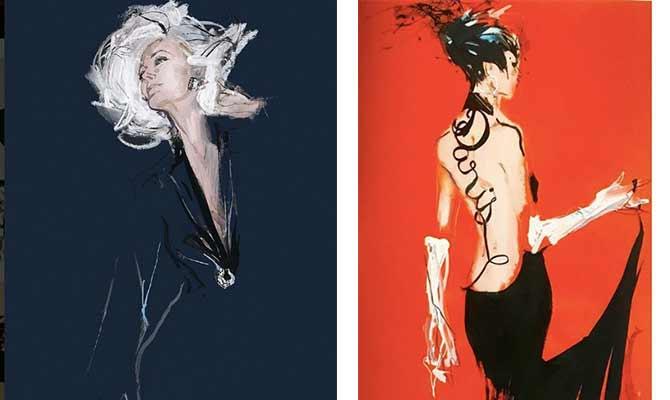 dibujos de moda