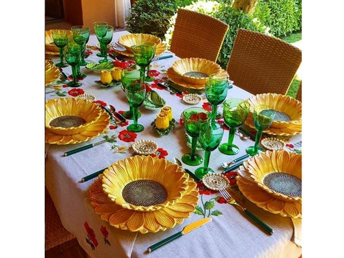 cena de verano con amigos