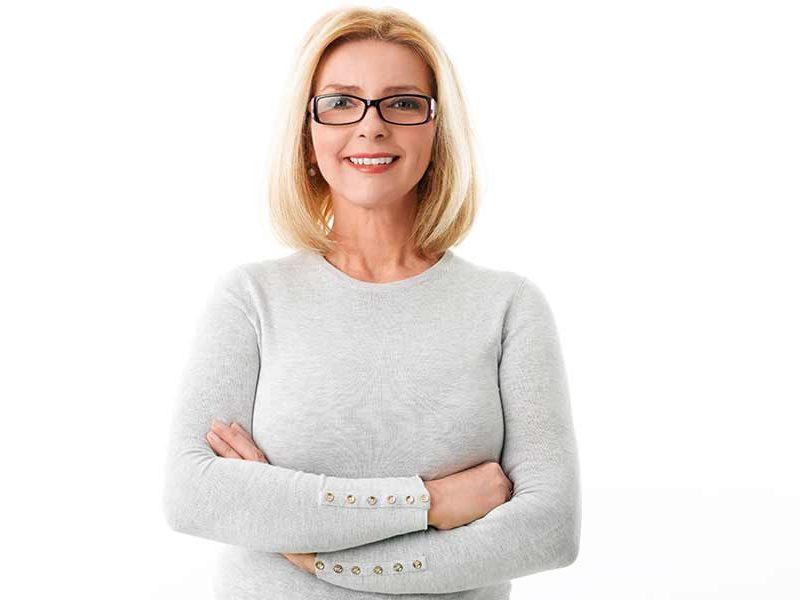 A que edad una mujer puede empezar con la menopausia