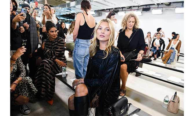 desfilé Longchamp en Nueva York
