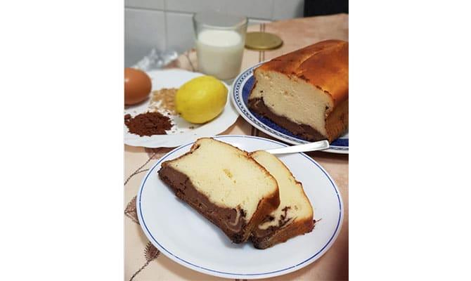 bizcocho marmón