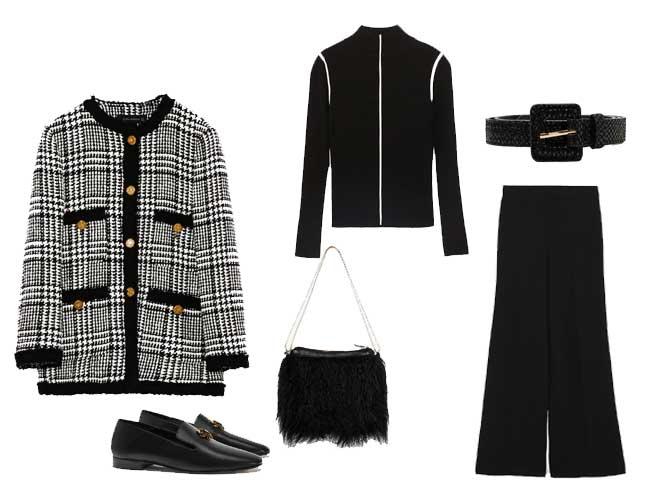 chaquetas estilo Chanel invierno