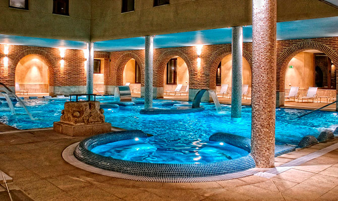 hoteles balnearios para pasar las navidades