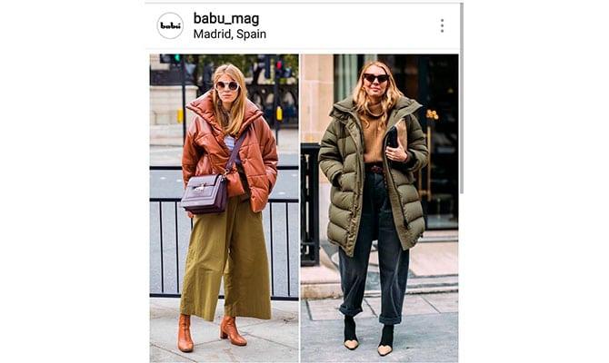 looks más populares en Instagram 2018