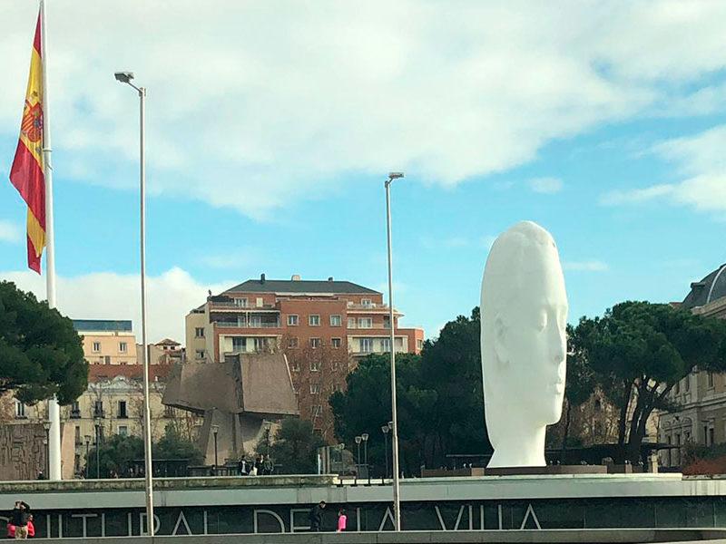 Jaume Plensa Julia Madrid