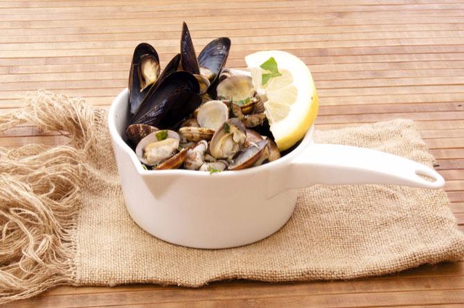 mariscos buenos para la salud